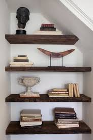 Under Stairs Shelves by Basement Book Shelves Under Stairs Home Sweet Home Pinterest