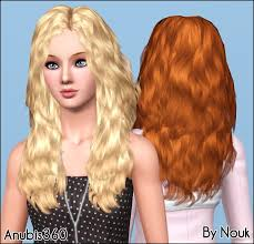 the sims 3 hairstyles and their expansion pack mod the sims nouk s long wavy hair converted for teen to elder