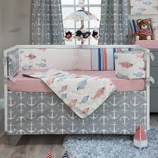 Fish Crib Bedding by Fish Tales Crib Bedding Collection Made In The Usa