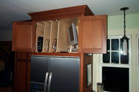 Above Kitchen Cabinet Storage Ideas by Refrigerator Cabinet Home Design Ideas And Pictures