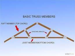 build a simple wood truss woods tiny houses and roofing systems