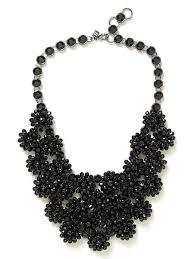black necklace images 48 black statement necklace black crystal statement necklace jpg
