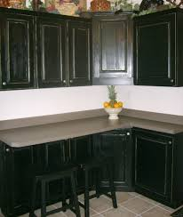 Kitchen Ideas With Black Cabinets Dark Atmosphere Of Kitchen Cabinets Home Design And Decor Ideas