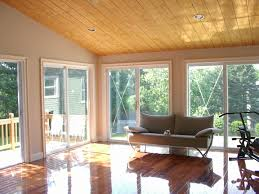Windows For Porch Inspiration Classic Wooden Ceiling With Wide Glass Windows Open Views Enclosed