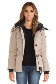 black friday canada goose canada goose rideau parka in brown lyst