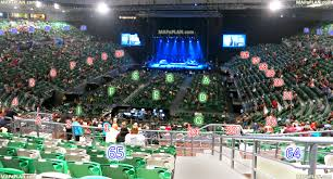 rod laver arena seating melbourne rod laver arena stage view from
