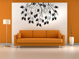 Livingroom Wall Art Living Room Wall Art Decals Mahogany Wood Book Rack White Wall