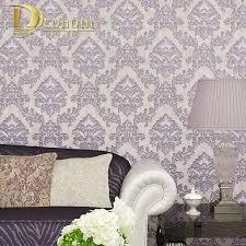 damask home decor simple european vintage luxury damask wallpaper for walls 3 d home