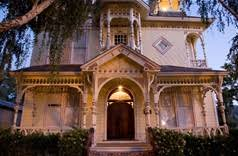 California Bed And Breakfast Victorian Mansion Bed And Breakfast In Los Alamos California