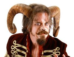 Goat Halloween Costume Ram Horns Costume Accessory Buycostumes