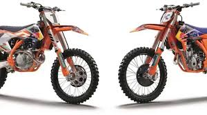 ktm sxf have added u0027factory edition u0027 versions to their four stroke
