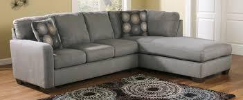Ashley Furniture Chaise Sofa by Buy Ashley Furniture 7020066 7020017 Zella Charcoal Raf Corner