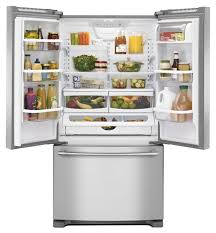 Kitchenaid Counter Depth French Door Refrigerator Stainless Steel - maytag stainless french door refrigerator mfc2062fez
