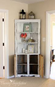 Corner Cabinet With Glass Doors Small Triangle Corner Cabinet Best Home Furniture Decoration