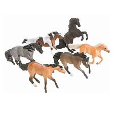 minnie whinnies breyer animal creations mini whinnies 6 mustang horses toys