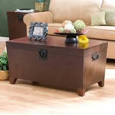 Trunk Coffee Table With Storage Southern Enterprises Pyramid Trunk Coffee Table Espresso Hayneedle