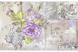 vintage wallpaper murals custom boiler com wall mural retro card with purple roses in vintage stylevintage aviation murals for sale