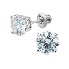stud diamond earrings diamond studs costco