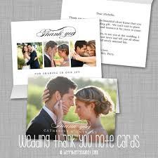 berryberrysweet modern wedding thank you photo cards