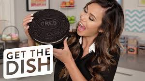 how to make a giant oreo cookie eat the trend youtube