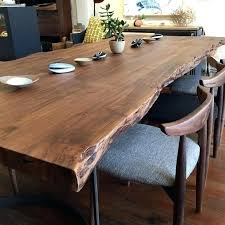 natural wood table top exquisite live edge kitchen table best ideas on natural wood dining
