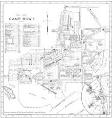 Ft Worth Map The Fort Worth Gazette 1917 18 A Time In Old Camp Bowie U0027s