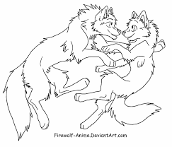 wolf float lineart by firewolf anime on deviantart