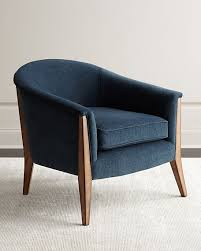 Blue Accent Chair Drew Accent Chair