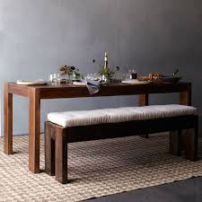 Kitchen Table Bench Cushions by Boerum Dining Bench Café West Elm