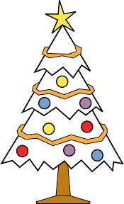 clipartist net christmas tree