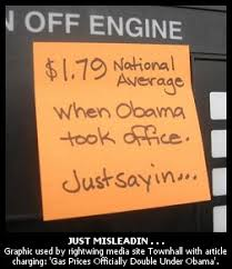 Gop Meme - phony gop meme of the moment gas prices have doubled under obama