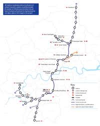 tfl appoints consulting groups to develop crossrail 2 plans