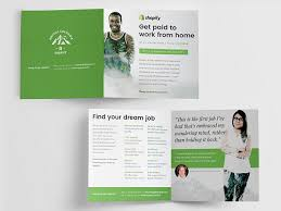 corporate bi fold brochure template bi fold brochure km creative