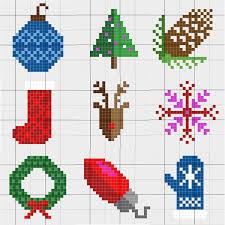 modern c2c crochet christmas afghan free pattern