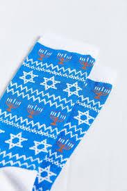 chanukah socks lyst outfitters chanukah sock in blue for men