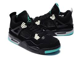 green glow 4 green air 4 retro green glow black air 4 nike air