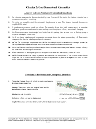 mastering physics solution manual knight physics chapter 2 answers acceleration velocity