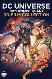 dc universe animated movies 10th anniversary blu ray collider