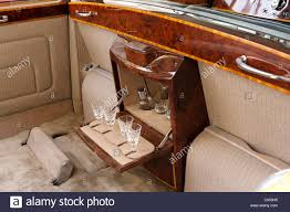rolls royce ghost rear interior rolls royce phantom v1 landaulette drinks bar interior rear stock