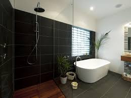 Black Bathroom Tiles Ideas 30 Beautiful Pictures And Ideas Custom Bathroom Tile Photos