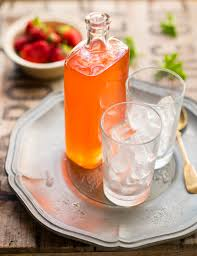 strawberry and rose geranium cordial recipe sbs food