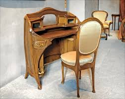 furniture created in the art nouveau style was prominent from the