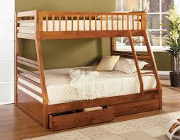 built in bunk beds california ii twin full bunk bed with 2 built in drawers cm bk601