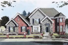 29 stone home floor plans country brick homes homes with brick