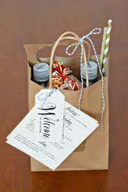 Welcome Baskets For Wedding Guests Wedding Welcome Bags Handmade And Homegrown