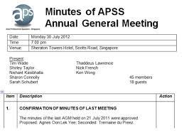 treasurer s report agm template apss 10th agm meeting president report