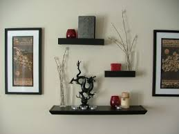 Wall Shelves by White Color Floating Wall Shelves Home Decorations Install