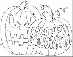 outstanding halloween pumpkin coloring pages october coloring