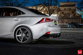 2014 lexus is250 wheels lexus is f sport on vossen rims makes you drool autoevolution
