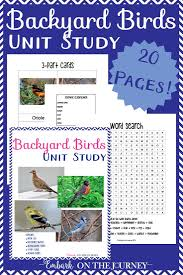 simple and engaging backyard bird unit study for preschoolers